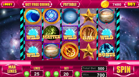 Planet 7 Slots Gameplay