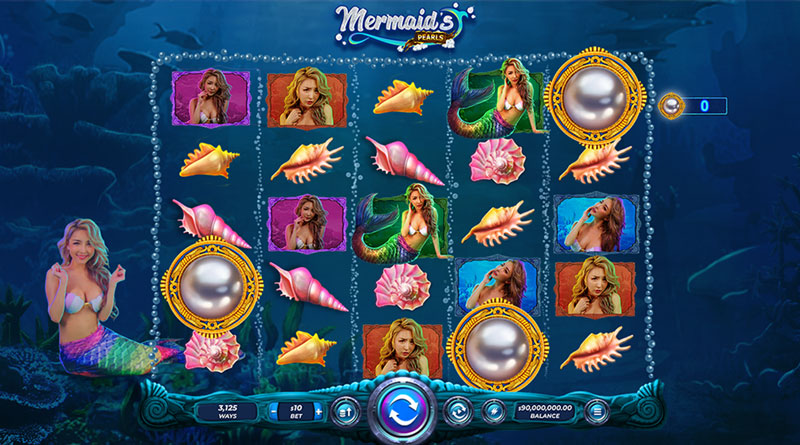 Mermaid's-Pearls Slot Gamble