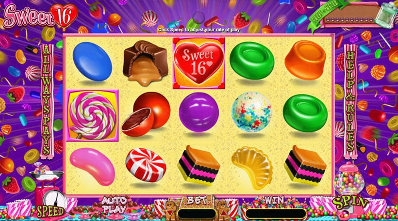 Sweet-16-Slot